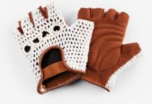 Rękawiczki KROSS City Stitch Damskie S Kremowe