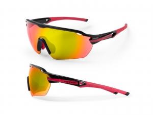 Okulary Accent Reflex Czarno-różowe