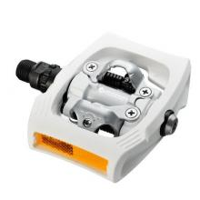 Pedały Shimano PD-T400 Białe SPD MTB +Bloki