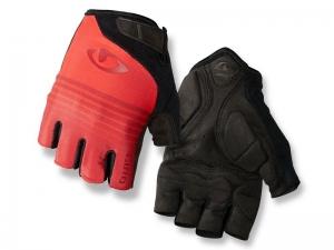Rękawiczki męskie GIRO JAG krótkie Red Six M