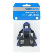 Bloki Shimano SM-SH12 2st Niebieskie
