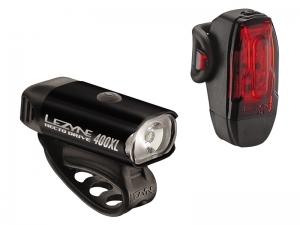 Zestaw lampki LEZYNE LED HECTO DRIVE USB Czarne