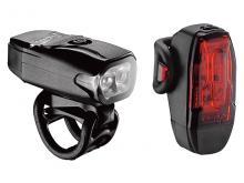 Zestaw lampki LEZYNE LED KTV DRIVE USB Czarne
