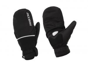 Rękawiczki zimowe ACCENT Thermal Plus Black XXL