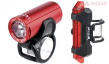 Zestaw Oświetlenia PROX PICTOR SET 350lm+10lm Red