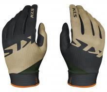 Rękawiczki unisex długie KELLYS Tyrion Green XL