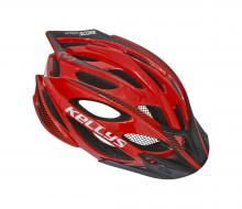 Kask Kellys Score Red Black S/M