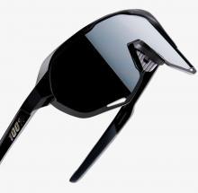 Okulary 100% S2 Soft Tact Black - Smoke Lens