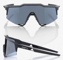 Okulary 100% SPEEDCRAFT Soft Tact Black - Smoke Le