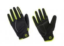 Rękawiczki zimowe ACCENT Snowflake Fluo M