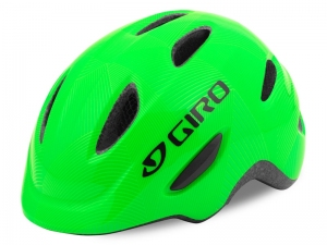 Kask GIRO SCAMP Dziecięcy Green Lime Matt S 49-53