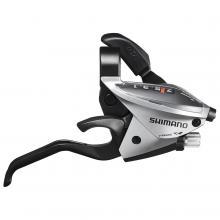 Klamkomanetka Shimano ST-EF65 7rz prawa srebrna