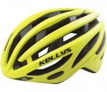 Kask Kellys Spurt Yellow Fluo S/M