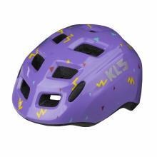 Kask dziecięcy Kellys ZIGZAG purple S