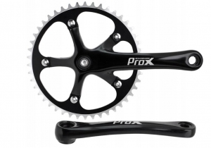 Korba PROX 46z 170mm Single Speed Czarna