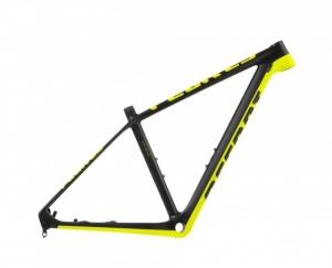 Rama Accent Peak Carbon 29 XS Czarno Żółta