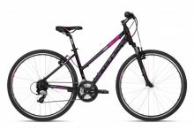 Rower damski KELLYS Clea 30 Black Pink M