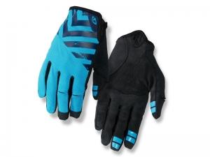 Rękawiczki męskie długie GIRO DND Blue Black L
