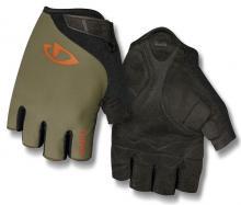 Rękawiczki męskie krótkie GIRO JAG Olive XL
